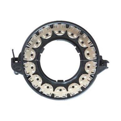 Originalus D1 D2 D3 D4 xenon HELLA linzės lemputės adapteris su metaliniu žiedu BMW/AUDI/MB/TOYOTA/MAZDA /SAAB/VOLVO