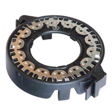 Originalus D1 D2 D3 D4 xenon LED lemputės adapteris su metaliniu žiedu BMW/AUDI/MB/TOYOTA/MAZDA /SAAB/VOLVO 2
