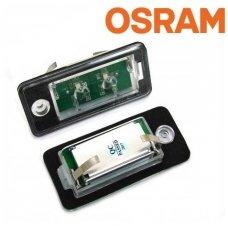 """""""Osram CHIPS"""" OEM AUDI LED numerių apšvietimas"""