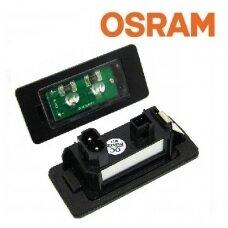 """""""Osram CHIPS"""" OEM BMW LED numerių apšvietimas E39, E60, E61, E82, E88, E90, E91, E92, E93, E70, E71"""