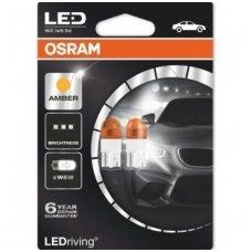 OSRAM LED WY5W 2000K orandžinės posūkių signalo lemputės