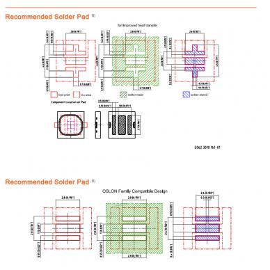 Osram Black Flat SMD raudonas diodas 1 vnt. 5