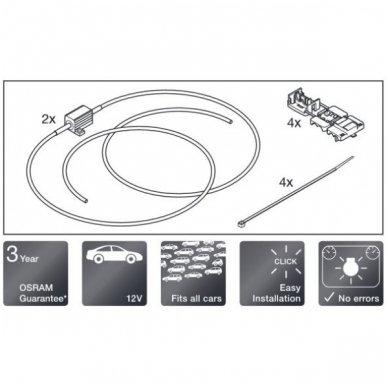 OSRAM CAN BUS CONTROLER 12V 5W, LED klaidų naikintojas LEDCBCTRL101 4