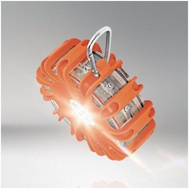 OSRAM LED SL302 švyturėlis su baterijom LEDguardian ROAD FLARE ORAN 4052899184053 6