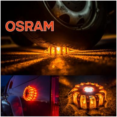 OSRAM LED SL302 švyturėlis su baterijom LEDguardian ROAD FLARE ORAN 4052899184053 2