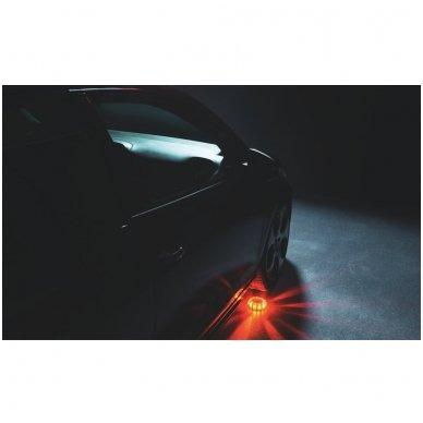 OSRAM LED SL302 švyturėlis su baterijom LEDguardian ROAD FLARE ORAN 4052899184053 10
