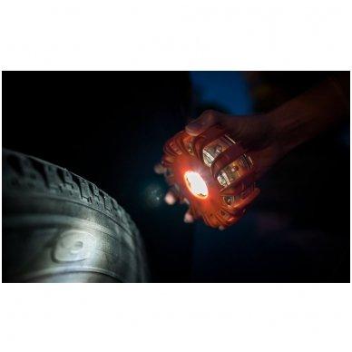 OSRAM LED SL302 švyturėlis su baterijom LEDguardian ROAD FLARE ORAN 4052899184053 5