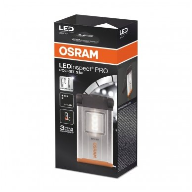 OSRAM LEDinspect PRO POCKET 280 LEDIL107 nešiojamas žibintuvėlis 4052899963863 7
