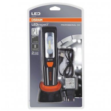 OSRAM LEDinspect PROFESSIONAL 150 LEDIL207 nešiojamas žibintuvėlis 4052899425019 5
