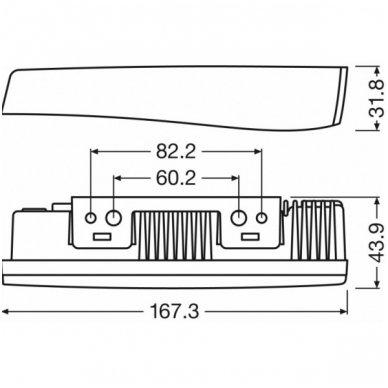 OSRAM LEDriving LG LEDDRL102 12v dienos žibintų - gabaritų A02 komplektas 4052899200494 6