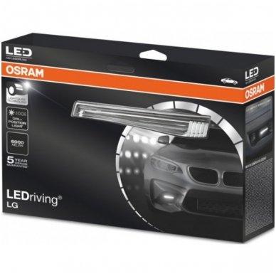 OSRAM LEDriving LG LEDDRL102 12v dienos žibintų - gabaritų A02 komplektas 4052899200494