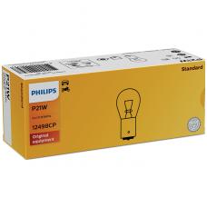 PHILIPS P21W BA15S halogeninė lemputė 12V 21W 12498CP