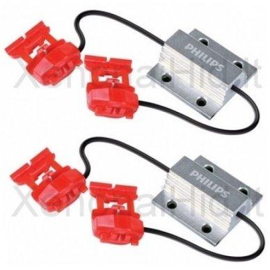 PHILIPS CAN-BUS CONTROLER LED klaidų naikintojas 12V, 5W, 12956x2, 38345430 2