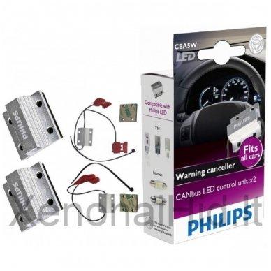 PHILIPS CAN-BUS CONTROLER LED klaidų naikintojas 12V, 5W, 12956x2, 38345430 5