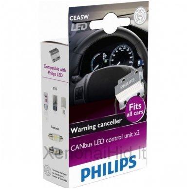 PHILIPS CAN-BUS CONTROLER LED klaidų naikintojas 12V, 5W, 12956x2, 38345430