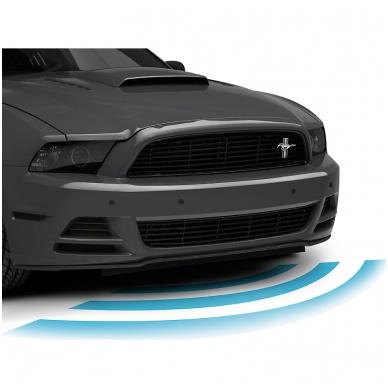 """Priekio 4-ių pilkos spalvos jutiklių parkavimo sistema """"EAGLE"""" su garsiniu Bi-Bi signalu. Garantija 36 mėn. 4"""