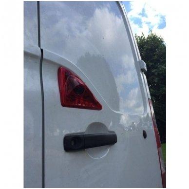 Renault Nissan Opel galinio vaizdo kamera integruota stabdžio žibinte 3