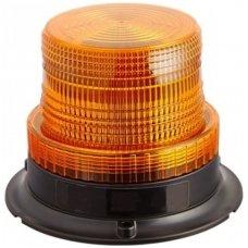 Sertifikuotas įspėjamasis LED oranžinis švyturėlis su magnetiniu padu