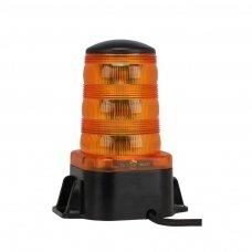 """Sertifikuotas įspėjamasis """"Osram LED"""" 24 SMD ECE E9 R65 R10 oranžinis švyturėlis prisukamas"""