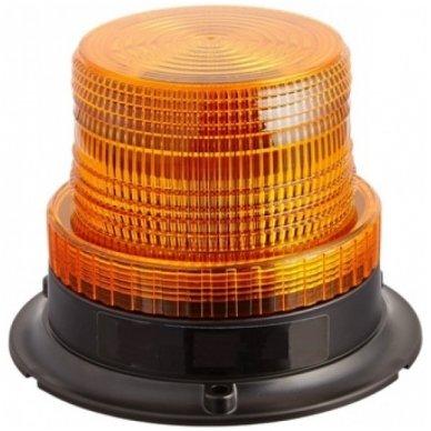 Sertifikuotas įspėjamasis LED oranžinis švyturėlis su magnetiniu padu 5