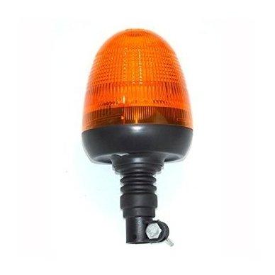 Sertifikuotas įspėjamasis LED oranžinis švyturėlis tvirtinamas ant vamzdžio 4