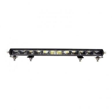 SLIM LED BAR lenktas sertifikuotas žibintas 84W 8400LM 12-24V (E9 HR PL) COMBO 52cm 3