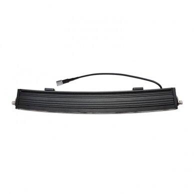 SLIM LED BAR lenktas sertifikuotas žibintas 84W 8400LM 12-24V (E9 HR PL) COMBO 52cm 18