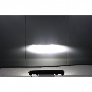 SLIM LED BAR lenktas sertifikuotas žibintas 84W 8400LM 12-24V (E9 HR PL) COMBO 52cm 27