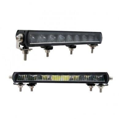 SLIM LED BAR sertifikuotas žibintas 56W 5600LM 12-24V (E9 HR PL) COMBO 36cm 3
