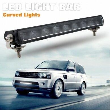 SLIM LED BAR sertifikuotas žibintas 84W 8400LM 12-24V (E9 HR PL) COMBO 52cm 20