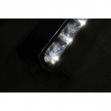 SLIM LED BAR lenktas sertifikuotas žibintas 84W 8400LM 12-24V (E9 HR PL) COMBO 52cm 21
