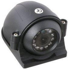 Spec. technikos išorės vaizdo kamera 4PIN IP69K 12V su IR LED