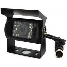 Spec. technikos išorės vaizdo kamera 4PIN IP67 12V su IR LED