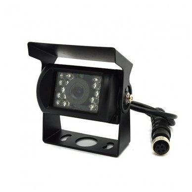 Spec. technikos išorės vaizdo kamera 4PIN IP67 12V su IR LED 2