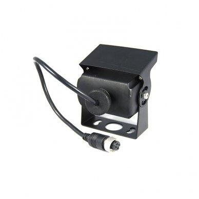 Spec. technikos išorės vaizdo kamera 4PIN IP69K 12V-24V su IR LED 5