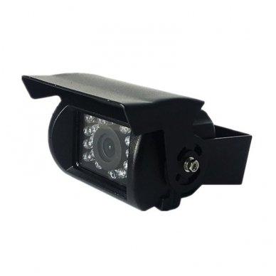 Spec. technikos išorės vaizdo kamera 4PIN IP69K 12V-24V su IR LED 7
