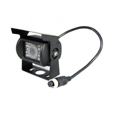 Spec. technikos išorės vaizdo kamera 4PIN IP67 12V su IR LED 4