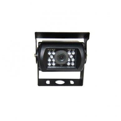 Spec. technikos išorės vaizdo kamera 4PIN IP67 12V su IR LED 3