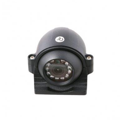 Spec. technikos išorės vaizdo kamera 4PIN IP69K 12V-24V su IR LED 4