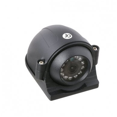 Spec. technikos išorės vaizdo kamera 4PIN IP69K 12V-24V su IR LED 2