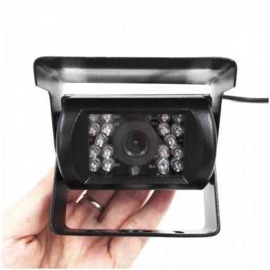 Spec. technikos išorės vaizdo kamera IP67 12v-24v su IR LED naktiniu matymu 2