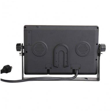 Spec. technikos LCD 7.0 colių monitorius 2 kanalų 12V-24V U-tvirtinimas 3
