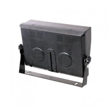 Spec. technikos LCD 9.0 colių monitorius 4 kanalų 12V-24V U-tvirtinimas 4