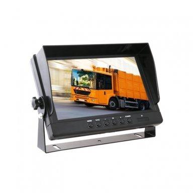 Spec. technikos LCD 9.0 colių monitorius 4 kanalų 12V-24V U-tvirtinimas 2