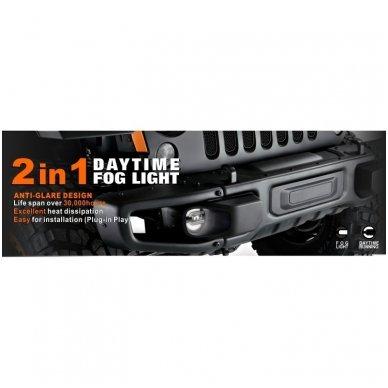 SPORT LED rūko ir DRL dienos žibintai sertifikuoti 6
