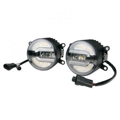 SPORT LED rūko ir DRL dienos žibintai sertifikuoti 4