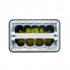 Sunkvežimių priekinis CREE LED žibintas 45W artimos/ tolimos/ gabaritas 9-32V