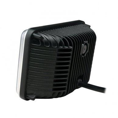 Sunkvežimių priekinis CREE LED žibintas 45W artimos/ tolimos/ gabaritas 9-32V 6