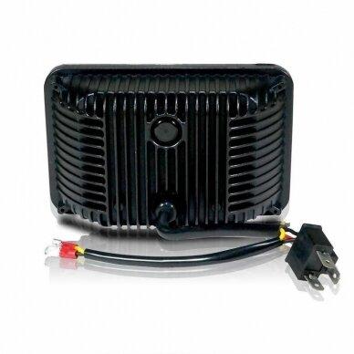 Sunkvežimių priekinis CREE LED žibintas 45W artimos/ tolimos/ gabaritas 9-32V 7