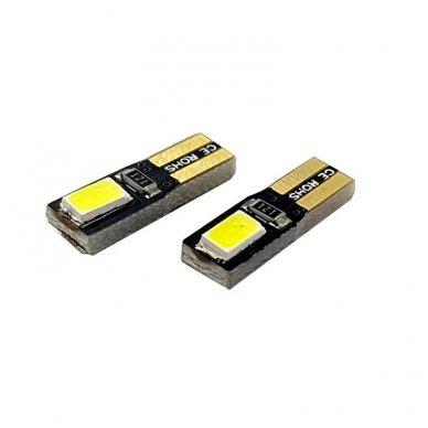 T5 W2W LED CAN BUS 2 SMD lemputė 4
